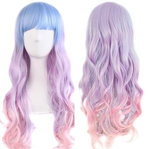 """Accessories - ✨Anaisee 26"""" colorful cutesy cosplay wig +NWT*✨"""